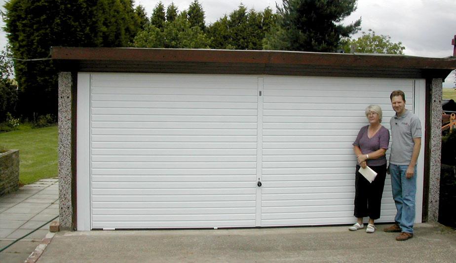 Up Amp Over Steel Garage Doors The Garage Door Team