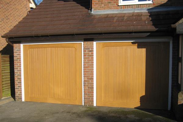 Up Over Timber Garage Doors The Garage Door Team