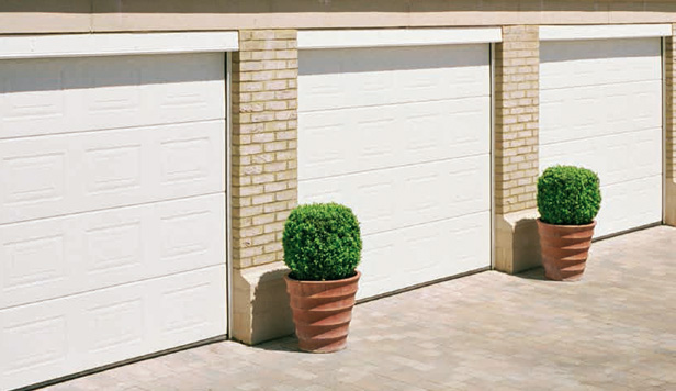 How Do Sectional Garage Doors Work? Sectional Garage Doors Are Constructed  Of Horizontal Panels (usually Between 3 To 8) Which Rise Vertically, ...